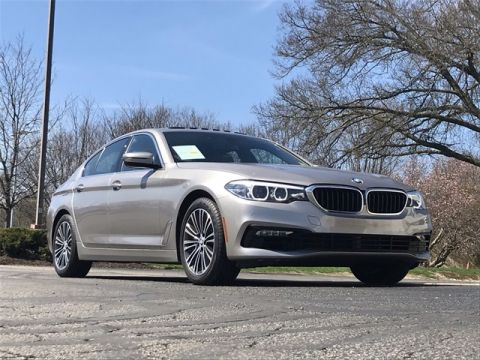 Certified Pre-Owned 2017 BMW 5 Series 530i xDrive AWD 4D Sedan